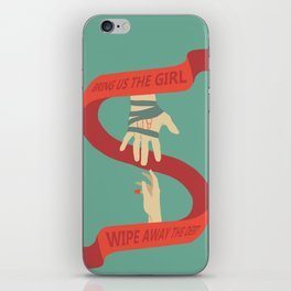 Bring us the Girl, and Wipe Away the Debt iPhone Skin