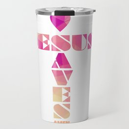 Jesus Saves Travel Mug