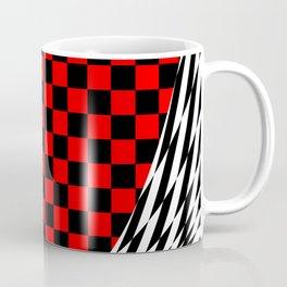 Schwarz rot weiss Coffee Mug