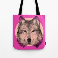 eric fan Tote Bags featuring Wild 7 by Eric Fan & Garima Dhawan by Garima Dhawan