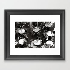 sunny brunch Framed Art Print