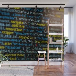 Code Master (Color) Wall Mural