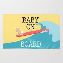 Baby On Board Rug
