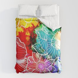Aloha Floral Comforters