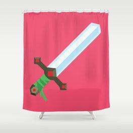 Magic Sword Shower Curtain