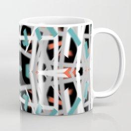 Blue Dashes | Saro-Gongo Pattern Coffee Mug