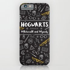 HOGWARTS School of Witchcraft and Wizardy iPhone 6 Slim Case