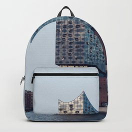 Hamburg, Germany Travel Artwork Backpack