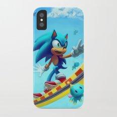 Sonic The Hedgehog iPhone X Slim Case