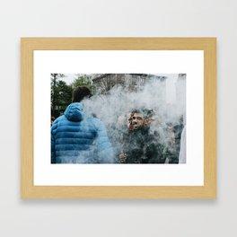 Million Marijuana March Framed Art Print
