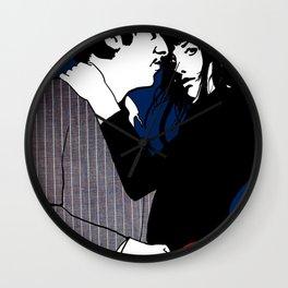 Serge Et Jane Wall Clock