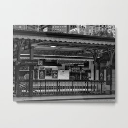 Flinders Street Station Metal Print