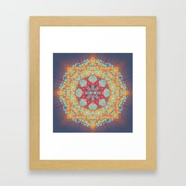 Enlighten Yourself. Framed Art Print