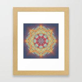 Enlighten Yourself. Framed Art Print