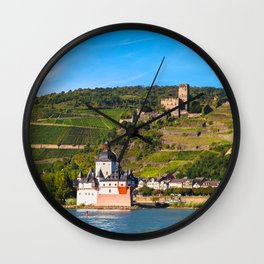 THE RHINE 01 Wall Clock