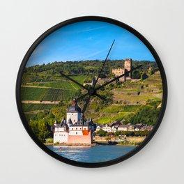 THE RHINE 01 Wall Clock