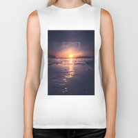 rowing Biker Tanks featuring December by HappyMelvin