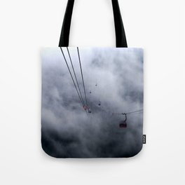Direct access to outer space? Tote Bag