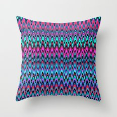 Making Waves Berry Smoothie Throw Pillow