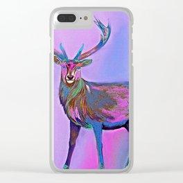 Deer Clear iPhone Case