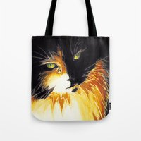 shadow Tote Bags featuring Shadow by DTice