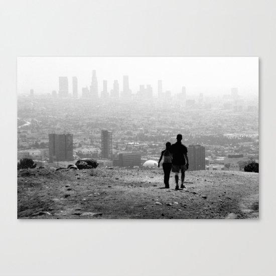 Distant City Canvas Print