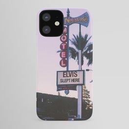 Elvis Slept Here iPhone Case