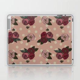 Peonies and Polka Dots Laptop & iPad Skin