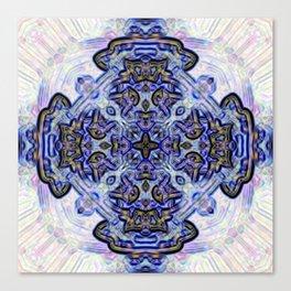 Mandala of a Sacred Presence Canvas Print