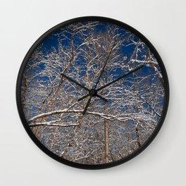 Susquehanna Winter Foliage Wall Clock