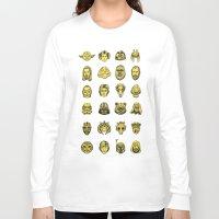 starwars Long Sleeve T-shirts featuring StarWars Icons by TravisPietsch
