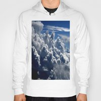 clouds Hoodies featuring clouds by  Agostino Lo Coco
