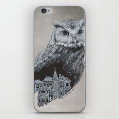 The Night Owl iPhone & iPod Skin