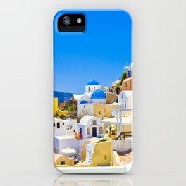 Amazing Santorini iPhone Case
