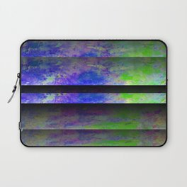 Green Color Blinds Laptop Sleeve