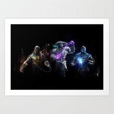 MK Alliance Art Print