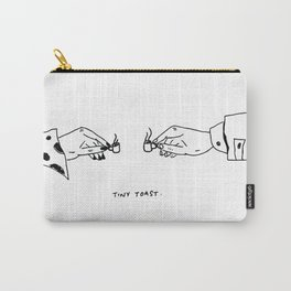 Tiny Toast Carry-All Pouch