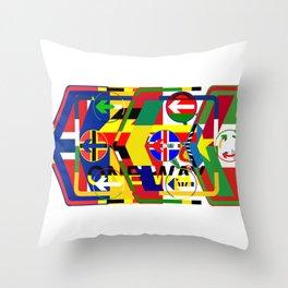 Traffic 01 Throw Pillow