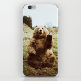 Hi Bear iPhone Skin