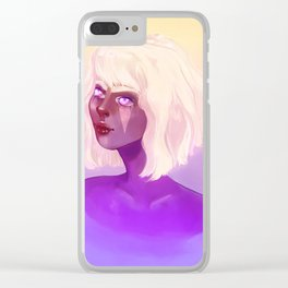 Dreaming with open eyes Clear iPhone Case