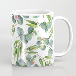 Bamboo and eucaliptus pattern Coffee Mug