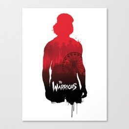 The Warriors Swan silhouette Canvas Print