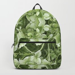 Abstract Hydrangea Pattern 608 Backpack