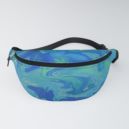 Hazy Summer - Abstract Painting Fanny Pack