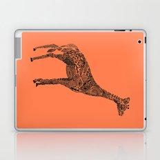 Designer Giraffe Coral Laptop & iPad Skin