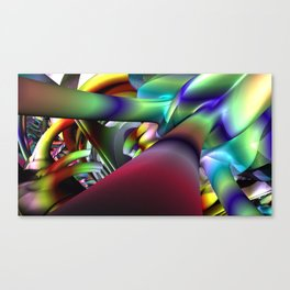 Journey To Canvas Print