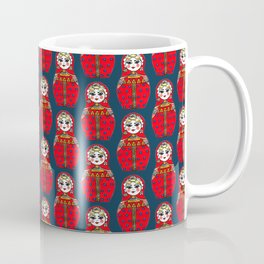 Russian doll pattern Coffee Mug