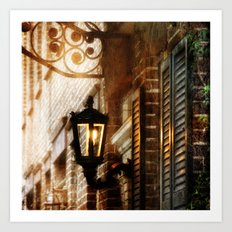 Meet Me By the Dull Pallor of an Old Gas Light Art Print