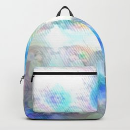Brightly So Devils Pattern 1 - Newer Rainy Pastel Beginnings Backpack