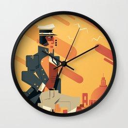 Corto Maltese Wall Clock
